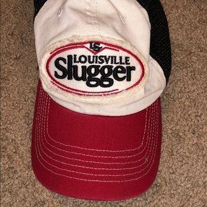 Louisville slugger baseball hat